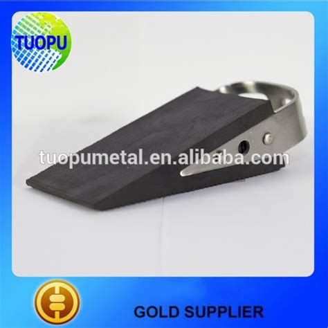 Promo Door Stopper promotional wedge rubber door stopper small safety plastic