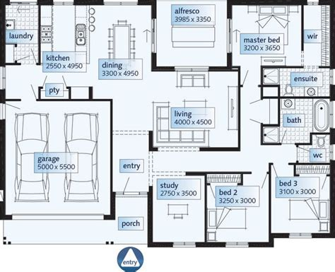 single floor plans with open floor plan best 25 single storey house plans ideas on