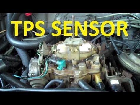 how to replace throttle position sensor quadrajet dualjet