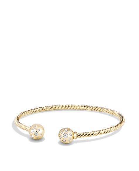 david yurman bead bracelet david yurman solari bead bracelet with diamonds in 18k