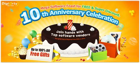 Pc Software Giveaway - winxdvd 10th anniversary software giveaway programe gratuite pc