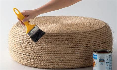 ottoman vire reciclagem no meio ambiente o seu portal de artesanato com material reciclado puff de pneu