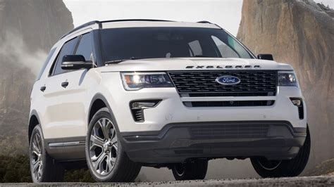 2018 ford explorer spec 2018 ford explorer release date price and specs roadshow