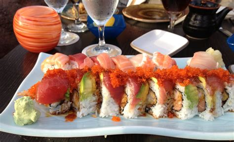 Japengo Restaurant Blackened Ahi Roll Ariana Manufactured Spending On Gift Cards