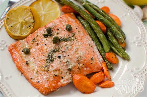 dinner salmon salmon sheet pan dinner family fresh meals