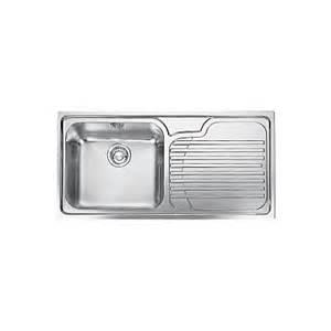 kitchen sinks b q franke galassia 1 bowl polished stainless steel single