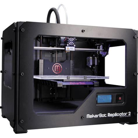 Printer 3d Makerbot makerbot replicator 2 desktop 3d printer mp04948 b h photo