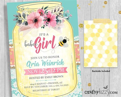 Reply To Baby Shower Invitation by Baby Shower Invitations Bee Invitation Its A And