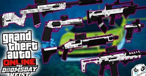 weapon pack dlc the doomsday heist for gtaind v2 | gtaind