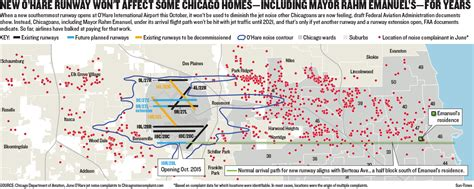 o hare runway diagram new o hare runway won t affect some chicago homes for
