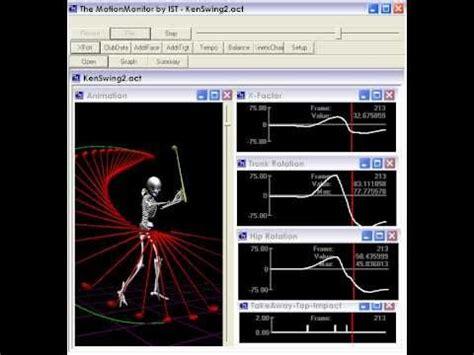 golf swing analysis software free golf swing analysis software the swingtrainer