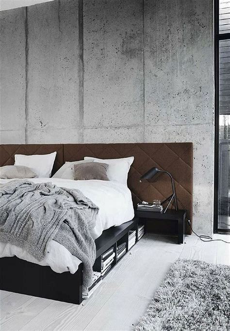 Cement Home Decor Ideas | 25 best ideas about concrete bedroom on pinterest