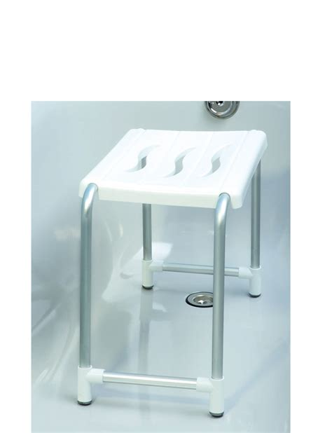 Plastic Stools For Showers by Wenko Secura Plastic Aluminium Shower Stool 50 X 32 X 26 Cm White Ebay