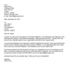 cover letter for volunteering volunteer cover letter exles best letter sle