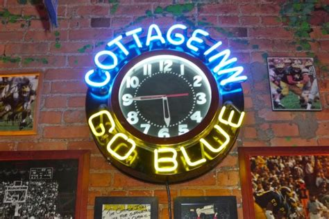 cottage inn pizza arbor michigan 36 best images about the u of m on football