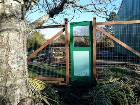 Deer Fence Door - gate in our deer fence gates and doors