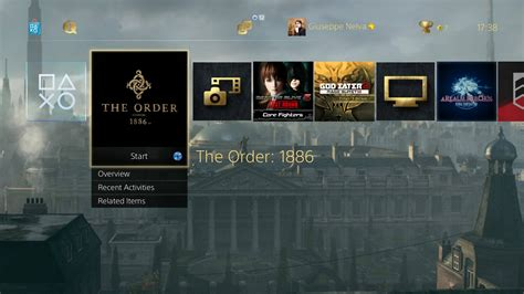 themes ps4 uk the order 1886 white chapel theme ps4 free original rrp