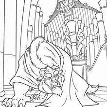 belle saves chip coloring pages hellokids