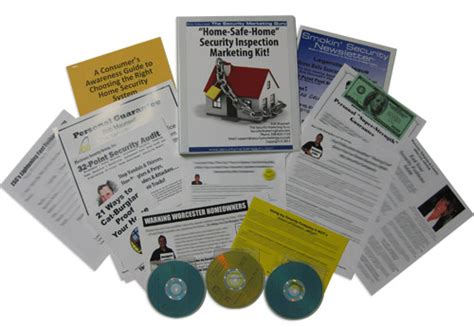 home safe home security inspection marketing kit