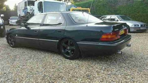 lexus ls400 lowered lexus 1994 ls400 4 0 v8 auto 17 alloy wheels lowered