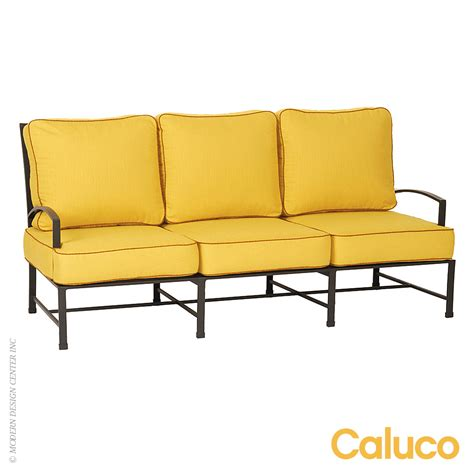 Caluco Patio Furniture San Sofa Set Of 2 Caluco Patio Furniture Modernoutlet