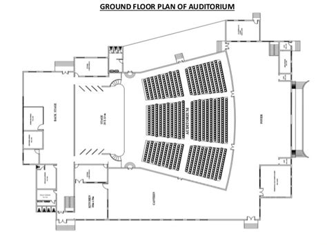 floor plan of auditorium auditorium seating design standards shanmukhananda hall