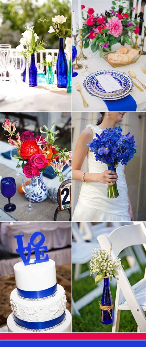 shades  blue wedding color ideas