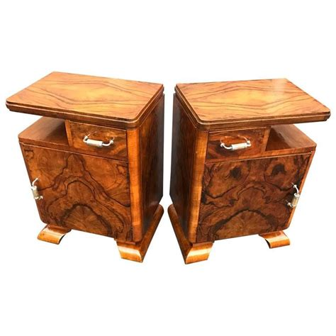 2d Eye Deco 12pair pair of italian deco stand tables at 1stdibs