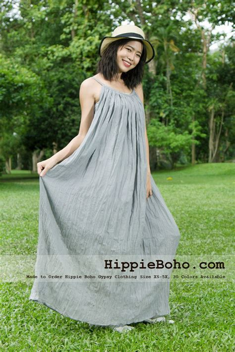 bohemian styles for women over 45 no 164 size xs 7x light gray bohemian strap cotton maxi