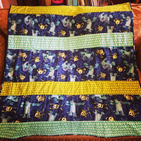 Monsters Inc Quilt by Monsters Inc Quilt Own Design Syfy Made