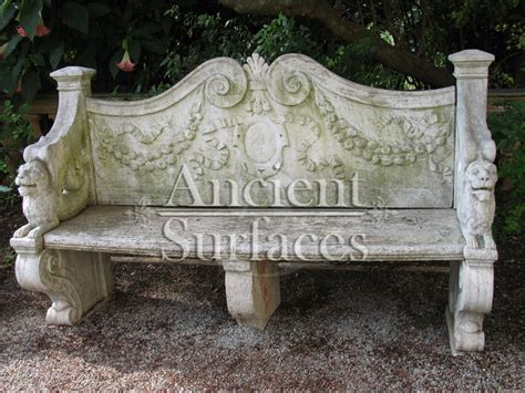 stone table and benches antique stone benches collection by ancient surfaces