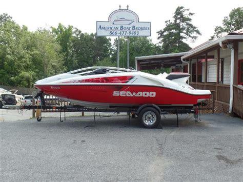 sea doo jet boat 430 hp sea doo sport boats speedster 200 430 hp boats for sale in