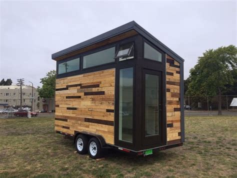 tiny house build high school students build tiny houses on wheels