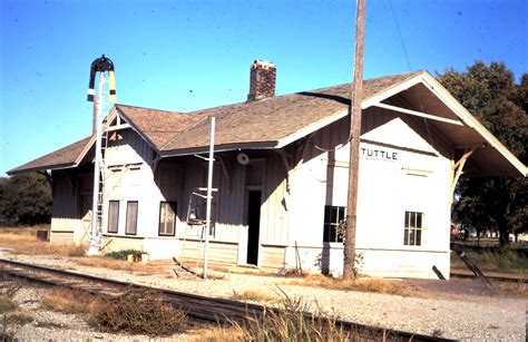 tuttle oklahoma depot 187 frisco archive