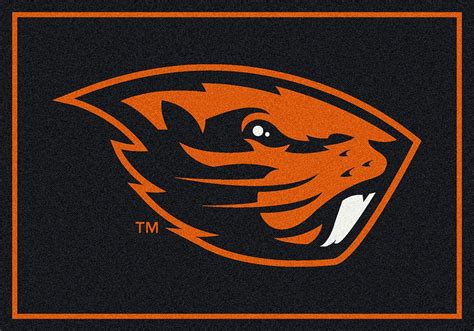 logo rugs buy oregon state beavers logo rugs