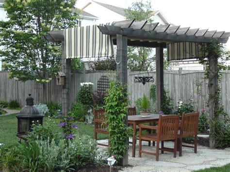 small backyard pergola a peak inside my garden gate ottawa garden design