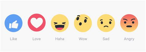 emoji fb facebook reactions 10 emojis reacciones que faltaron en
