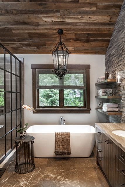 stylish mountain home  lake tahoe designed