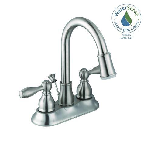 lighted bathroom faucets glacier bay mandouri 4 in centerset 2 handle led bathroom
