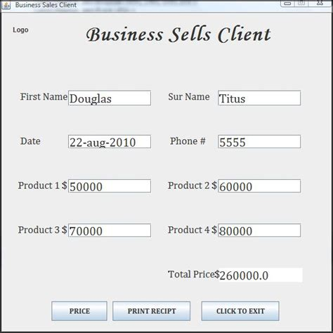 java printable html business application invoice free source code tutorials