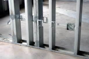 With Metal Studs Light Metal Stud Framing Okumuş Inşaat