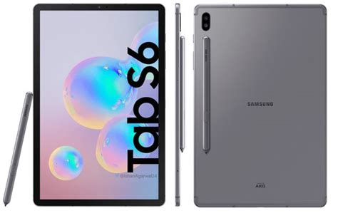 Samsung Galaxy Tab S6 Leaks by Most Of Samsung Galaxy Tab S6 Specs Leaked