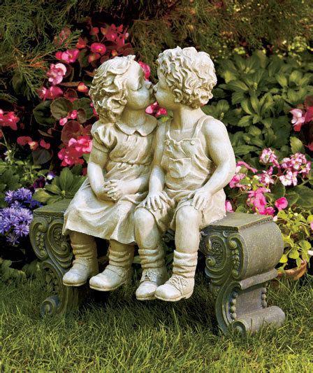 Statue For Garden Decor Oversized Boy On Bench Garden Statue Lawn Yard Porch Outdoor Home Decor Garden Ideas