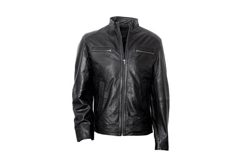 Handmade Leather Motorcycle Jackets - handmade s bomber leather jacket mens leather jackets