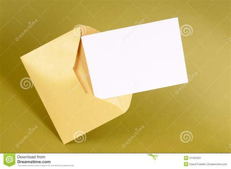 Invitation Letter Background Images manila envelope blank message card or letter up copy space stock image image 51423431