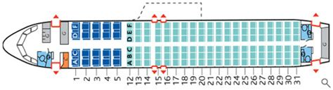 air canada seat map iflybusiness
