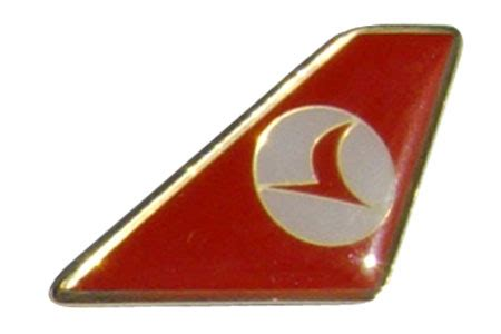 turkish airlines lapel pin tie tack by aci aviation
