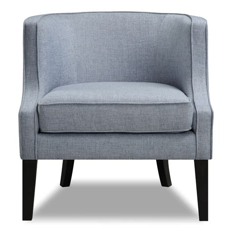 Blue Accent Chair Bradley Accent Chair Blue American Signature Furniture
