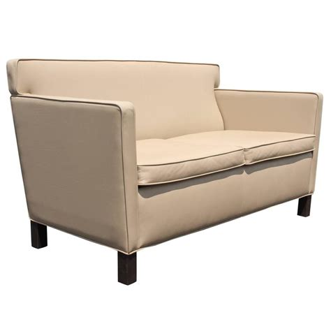 mies van der rohe sofa ludwig mies van der rohe krefeld leather settee sofa for