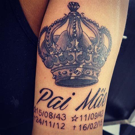 tatuagem de coroa conhe 231 a todos os estilos e